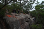 Abseiling at Wahroonga.